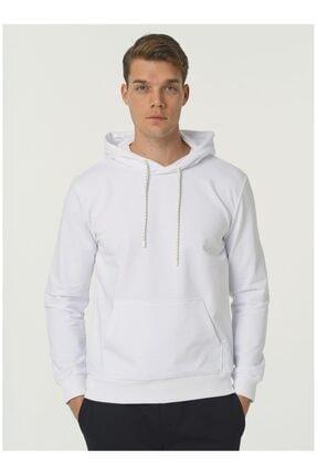 Fabrika Erkek Beyaz Sweatshirt