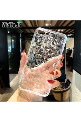 Kılıfsiparis Iphone 7-8 Plus Uyumlu Pramit Desenli Darbe Önleyici Silikon Kılıf