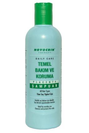 Novocrin Placenta Temel Bakım Ve Koruma Günlük Bakım Şampuanı 300 Ml