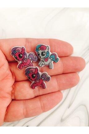 Yeşim Aksesuar Unicorn Çocuk Yüzüğü, Çocuk Yüzük 3 Adet