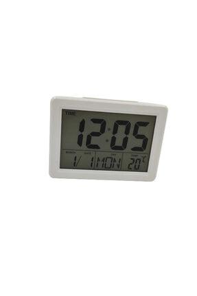 DEHALİMİTED Termostatlı Alarmlı ve Işıklı Çok Fonksiyonlu Dijital Saat