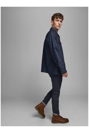 Jack & Jones Erkek Lacivert Jeans