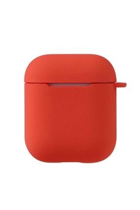 zore Turuncu Apple Airpods  Airbag 11 Silikon  Kılıf