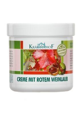 Krauterhof Kırmızı Asma Yaprağı Ayak Ve Bacak Kremi 250 Ml