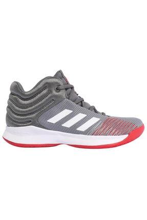 adidas Bb9144 Açık Gri Beyaz Gri Unisex Basketbol Ayakkabısı 100409011