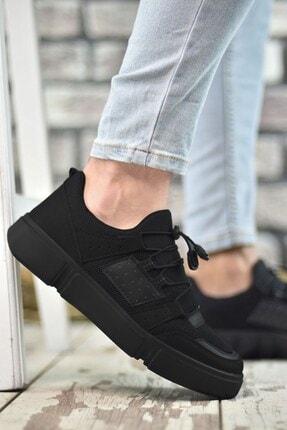 Riccon Siyah Siyah Erkek Sneaker 00122023