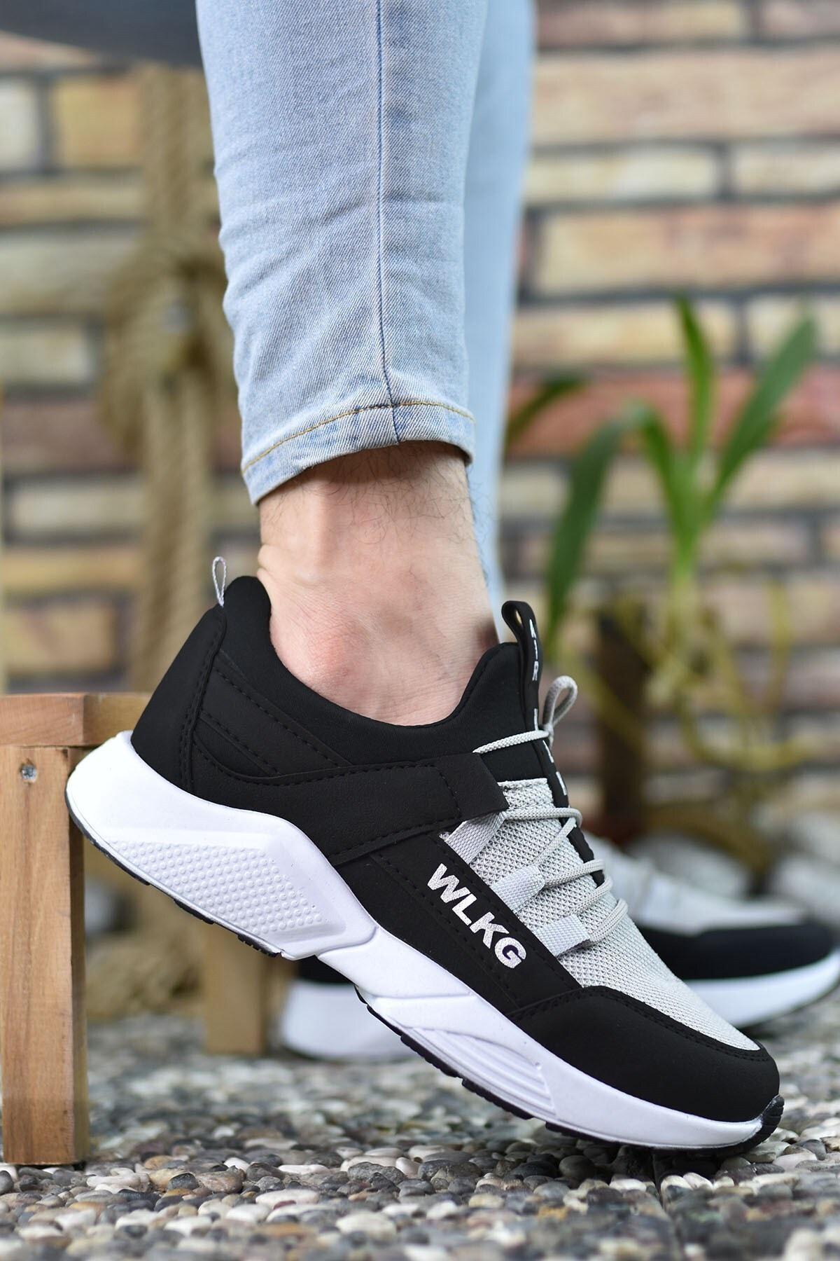 Riccon Siyah Buz Unisex Sneaker 0012072 1