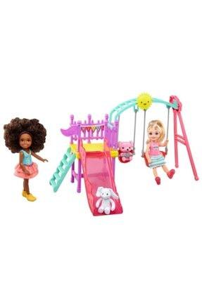 Barbie Chelsea ve Arkadaşı Oyun Parkında Oyun Seti