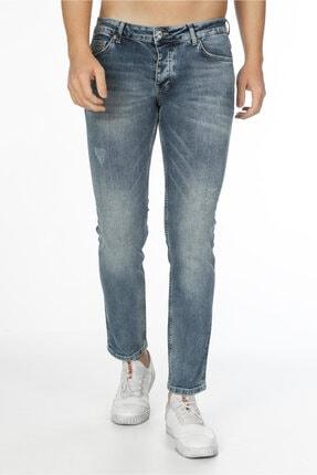 CEDY DENIM Erkek Açık Mavi Kot Pantolon Slim Fit Jean - C300