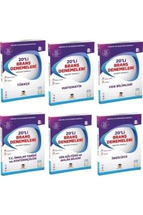 Zeka Küpü Yayınları Zeka Küpü Yay. Lgs 8. Sınıf 6 Temel Ders 20'li Branş Deneme Seti