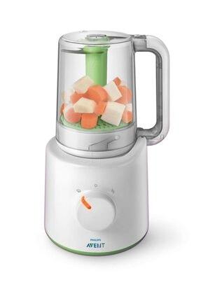 Philips Avent Scf870/22 Wasabi 2'si 1 Arada Buharlı Pişirici ve Blender