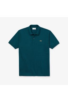 Lacoste Erkek Klasik Fit L1212 Yeşil Kısa Kollu Polo Yaka T-Shirt