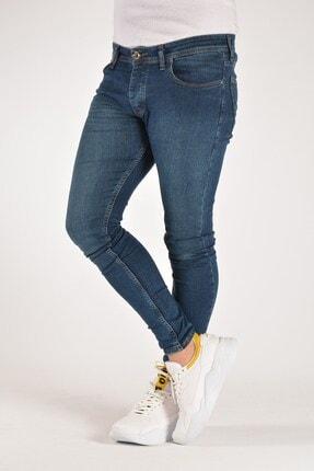 Terapi Men Erkek Mavi Slim Fit Kot Pantolon 20k-2100470 Mavi