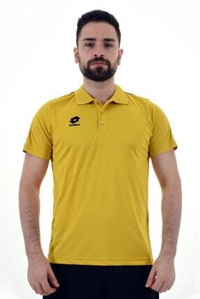 Lotto Erkek Sarı Athletica Polo Camp Pl T-shirt R8945