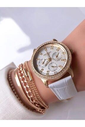 Sebago Kadın Kol Saati + Bileklik Hediyeli
