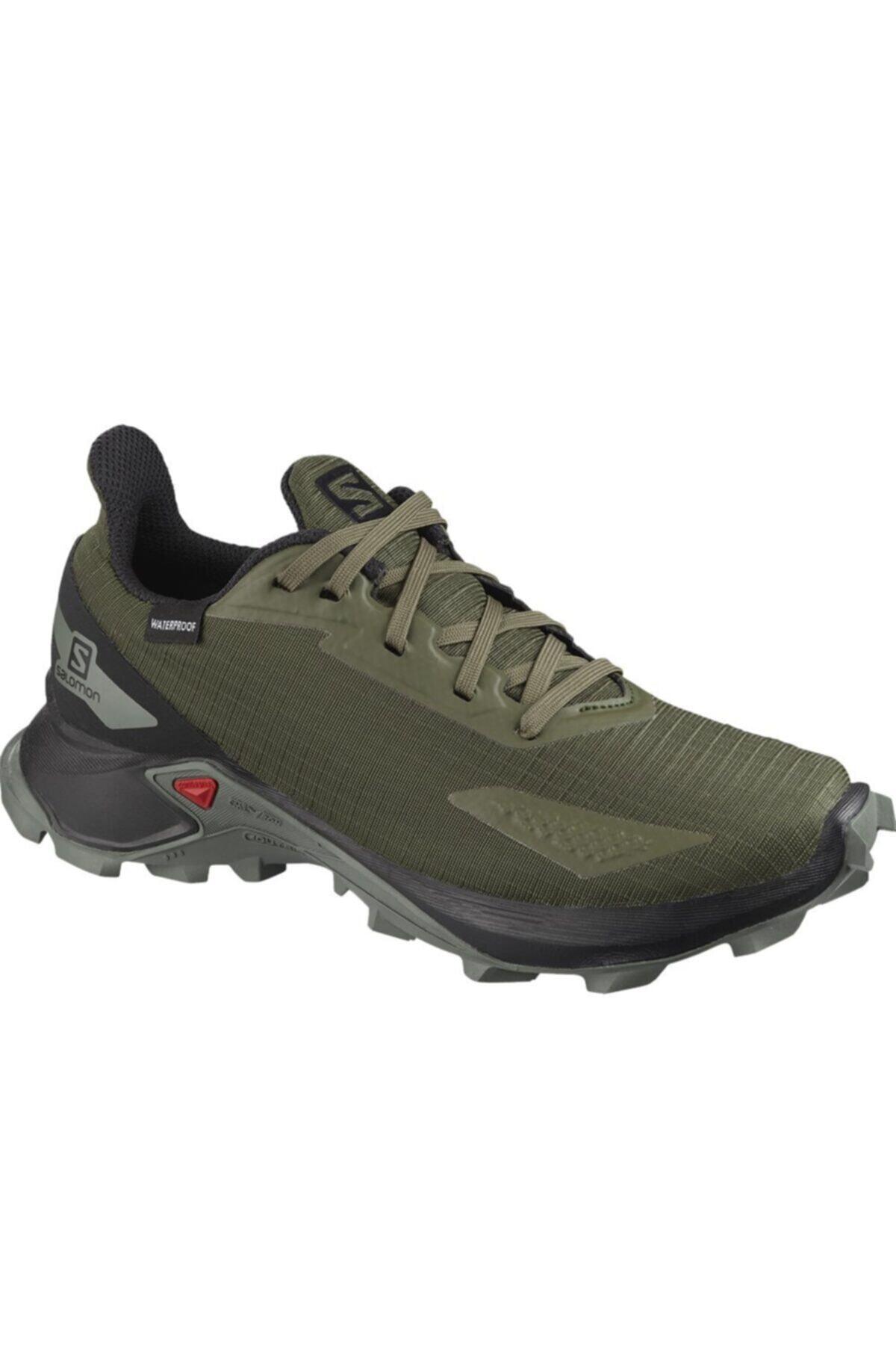 Salomon Erkek Haki Outdoor Ayakkabı L41105800 1
