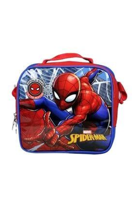 pazaristanbul Mavi Spiderman Lisanslı Beslenme Çantası