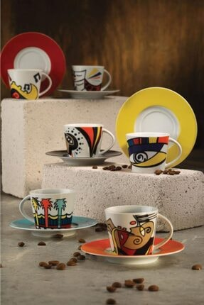 Kütahya Porselen Free Time Çay Takımı