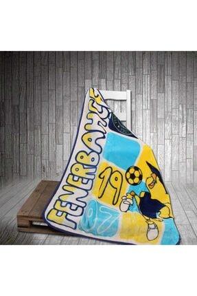 Merinos Fenerbahçe Kanarya Lisanslı Bebek Battaniyesi