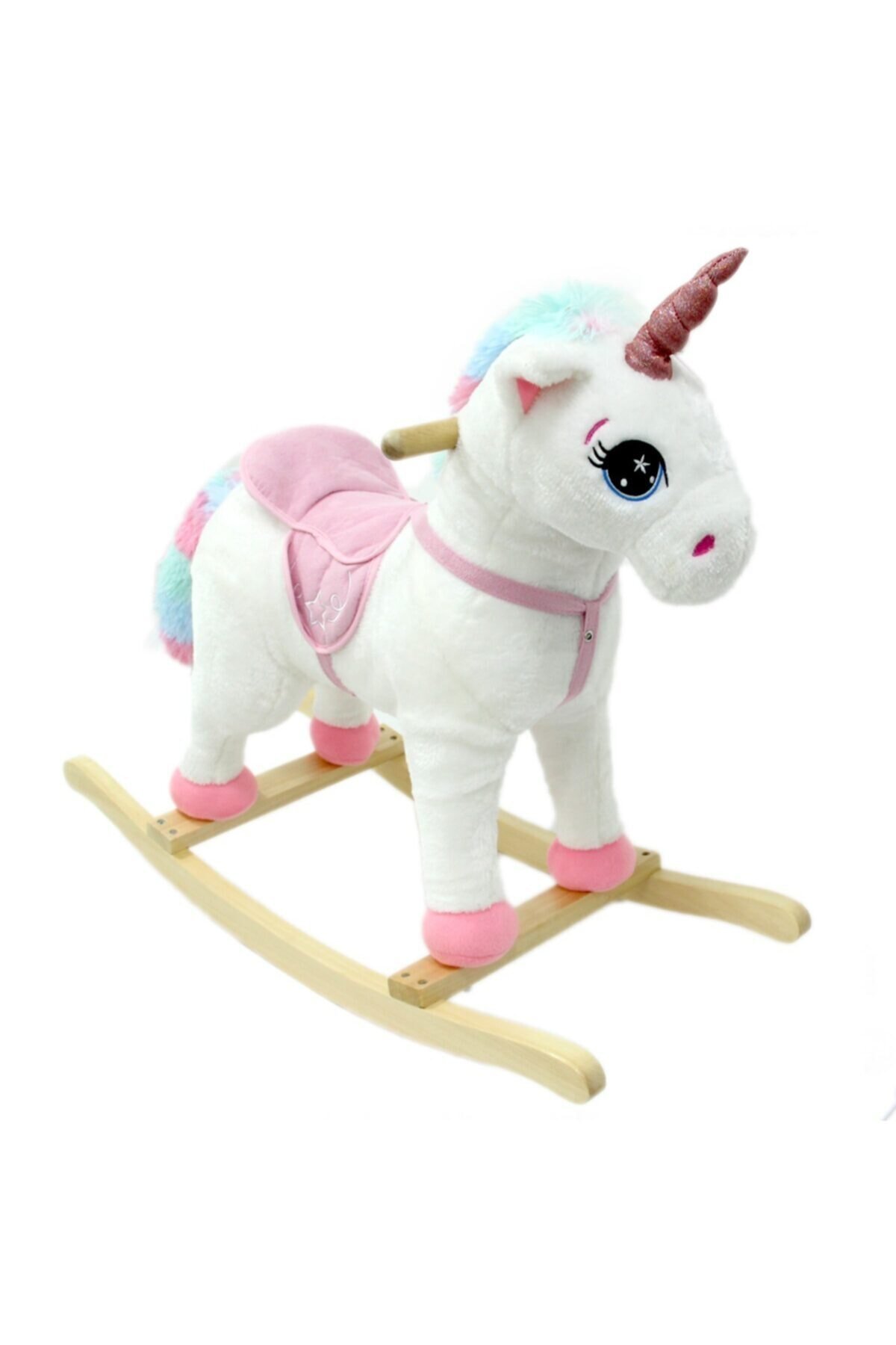 Can İthalat Sallanan At Sesli Küçük Unicorn 1