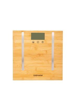 GOLDMASTER Gm-7189 Bioslim Bambu Vücut Analiz Baskülü