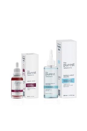 The Purest Solutions Siyah Nokta Önleyici Ve Gözenek Sıkılaştırıcı Bakım Seti 200ml + 30 ml