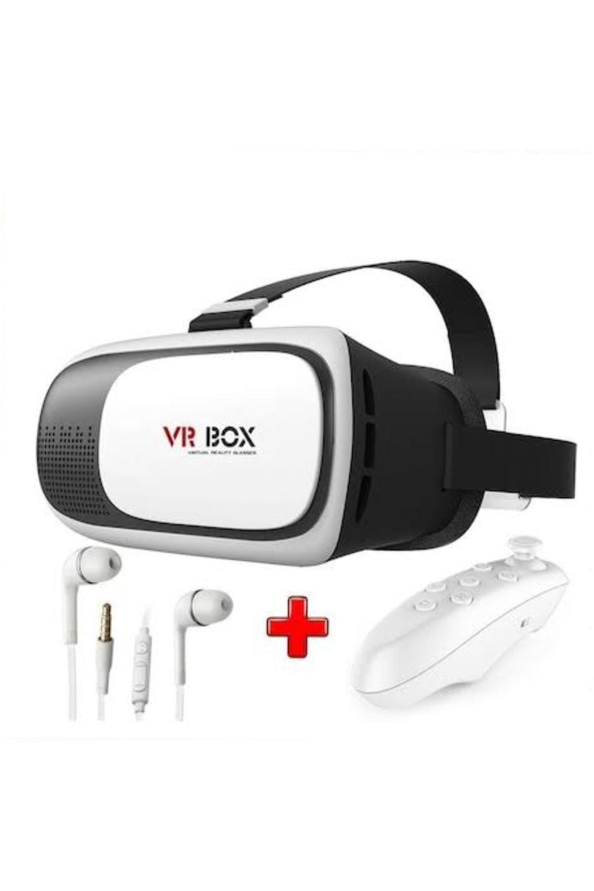 VR BOX 3D 3in1 Sanal Gerçeklik Gözlüğü Seti 1