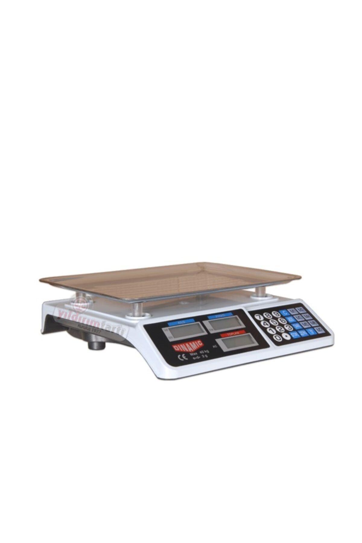 Dinamic Terazi Bakkal Manav Market Ve Pazarcı Tartıcı Max.40 Kg 2.gr Hassasiyet 2