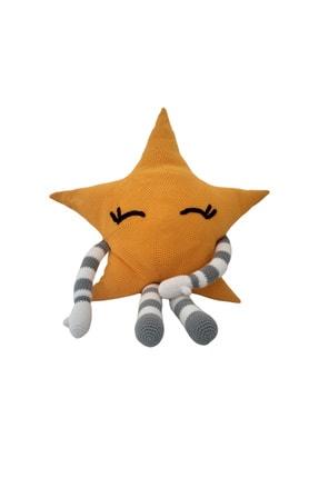 Yönyap El Yapımı Amigurumi Oyuncak Yıldız Yastık