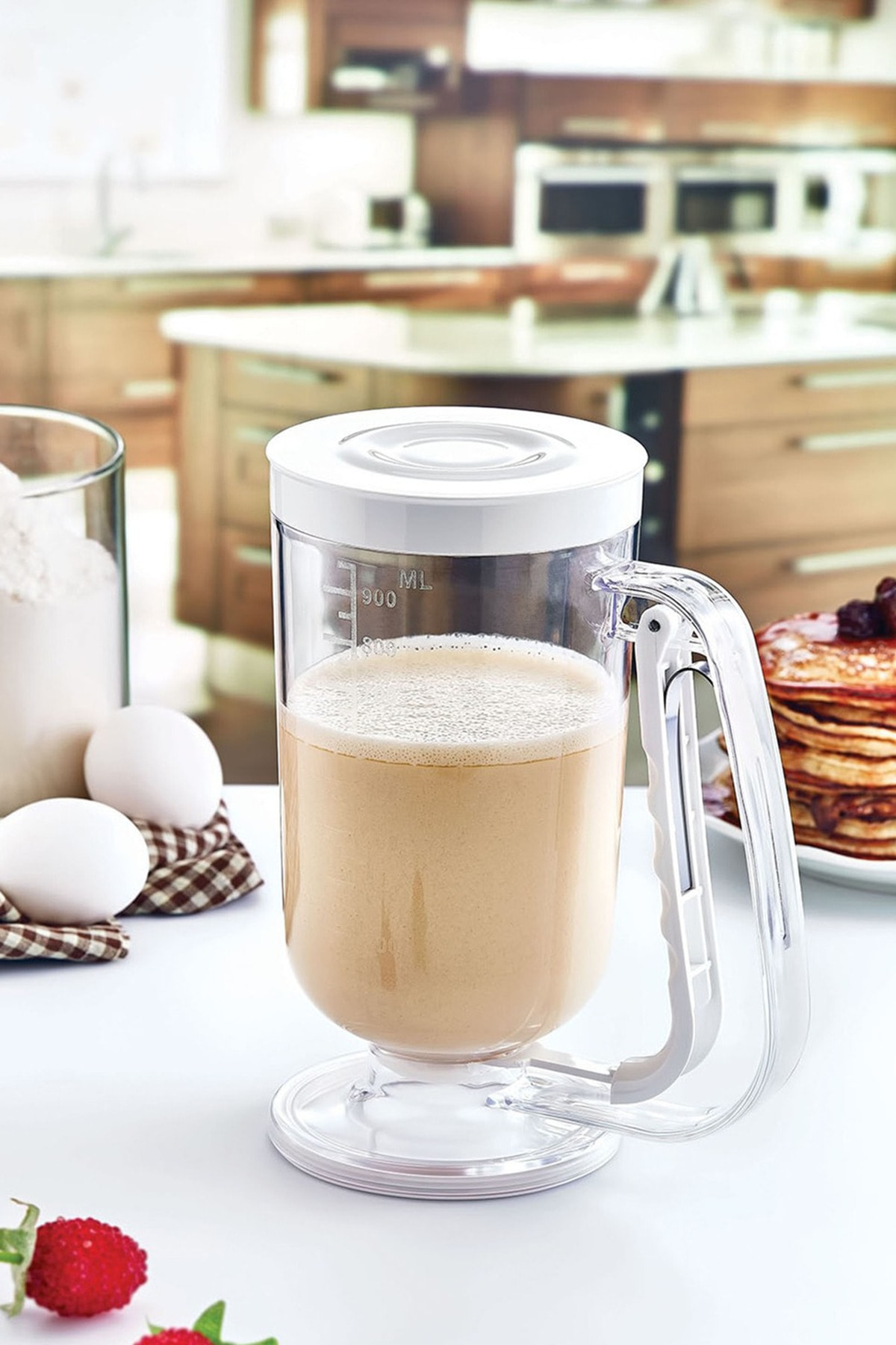 Arsimo Pratik Hamur Dağıtıcı Pancake Krep Muffin Kolay Akıtma Kabı 2