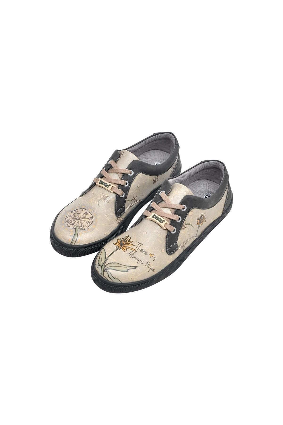 Dogo Kadın Bej Sneaker 2