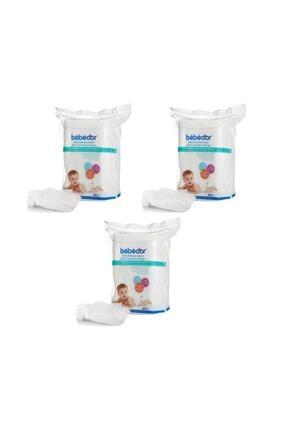 Bebedor Bebek Temizleme Pamuğu 60' Lı 3 Adet
