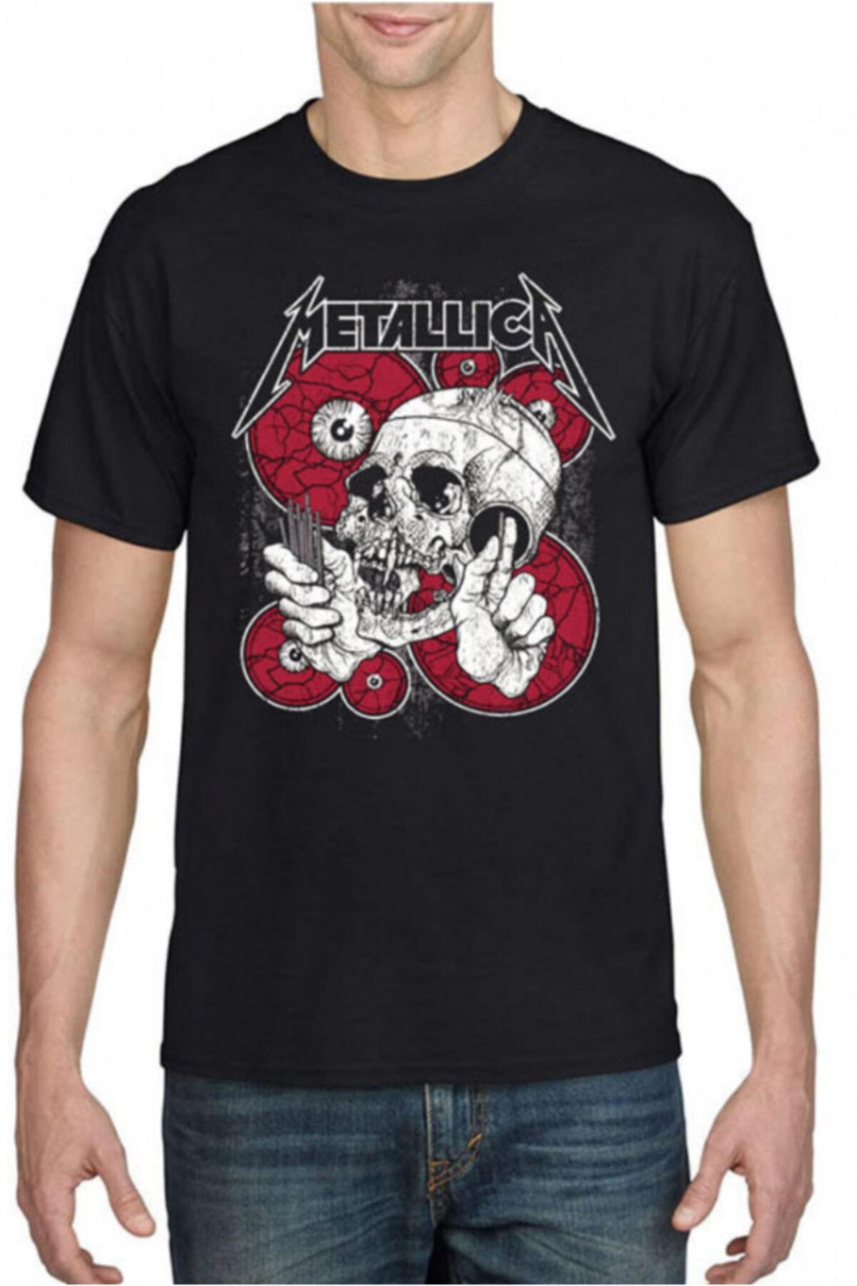 KARGA Unisex Siyah Metallica T-shirt 1