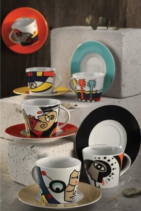Kütahya Porselen Free Time Kahve Takımı