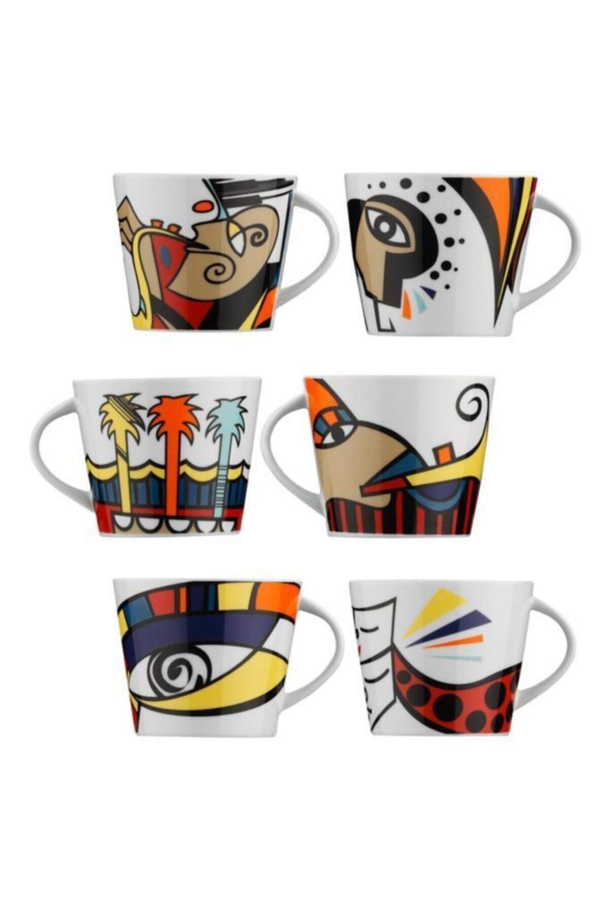 Kütahya Porselen Free Time Kahve Takımı 2