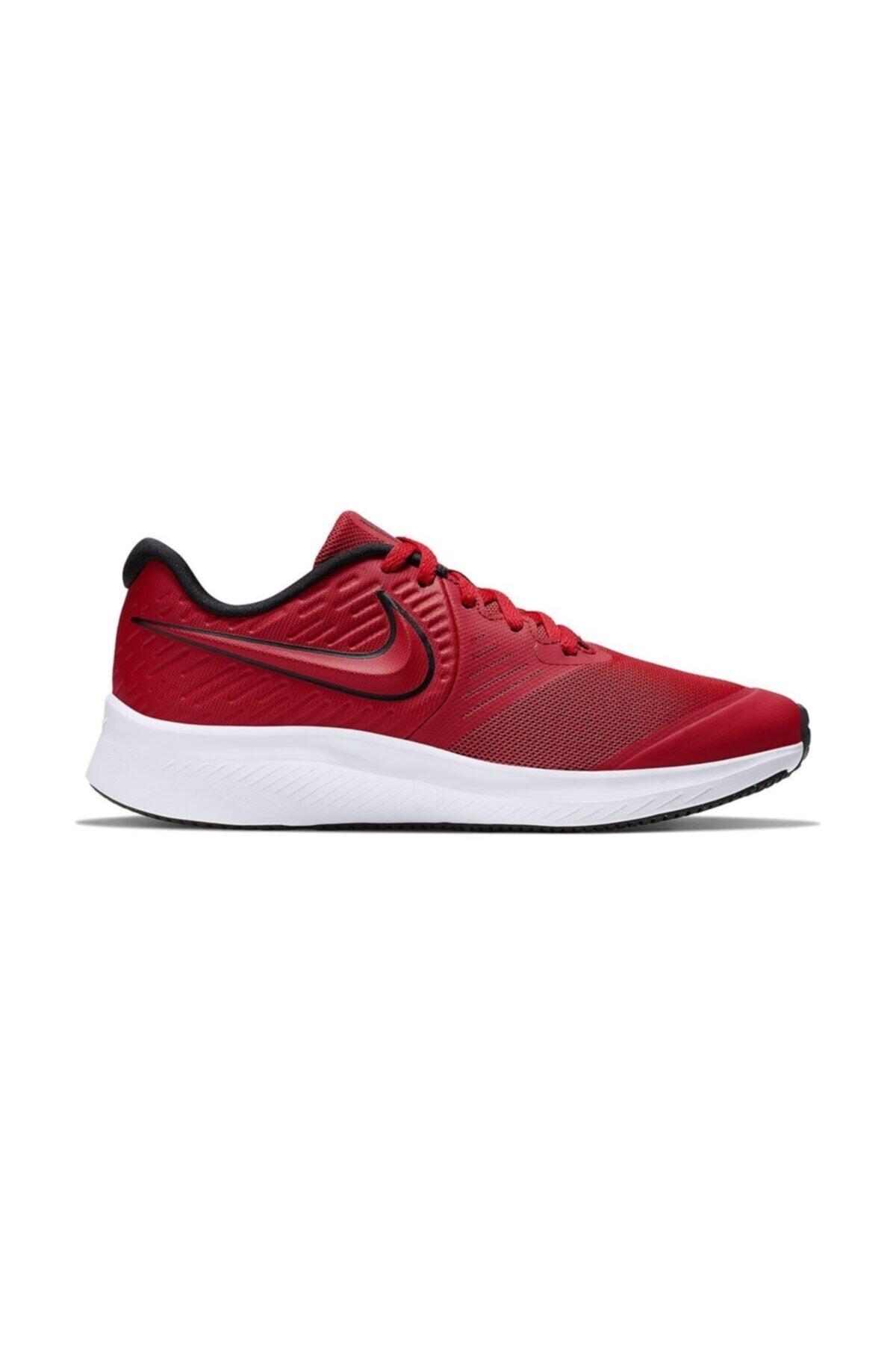 Nike Kadın Kırmızı Star Runner 2 Sneaker 1