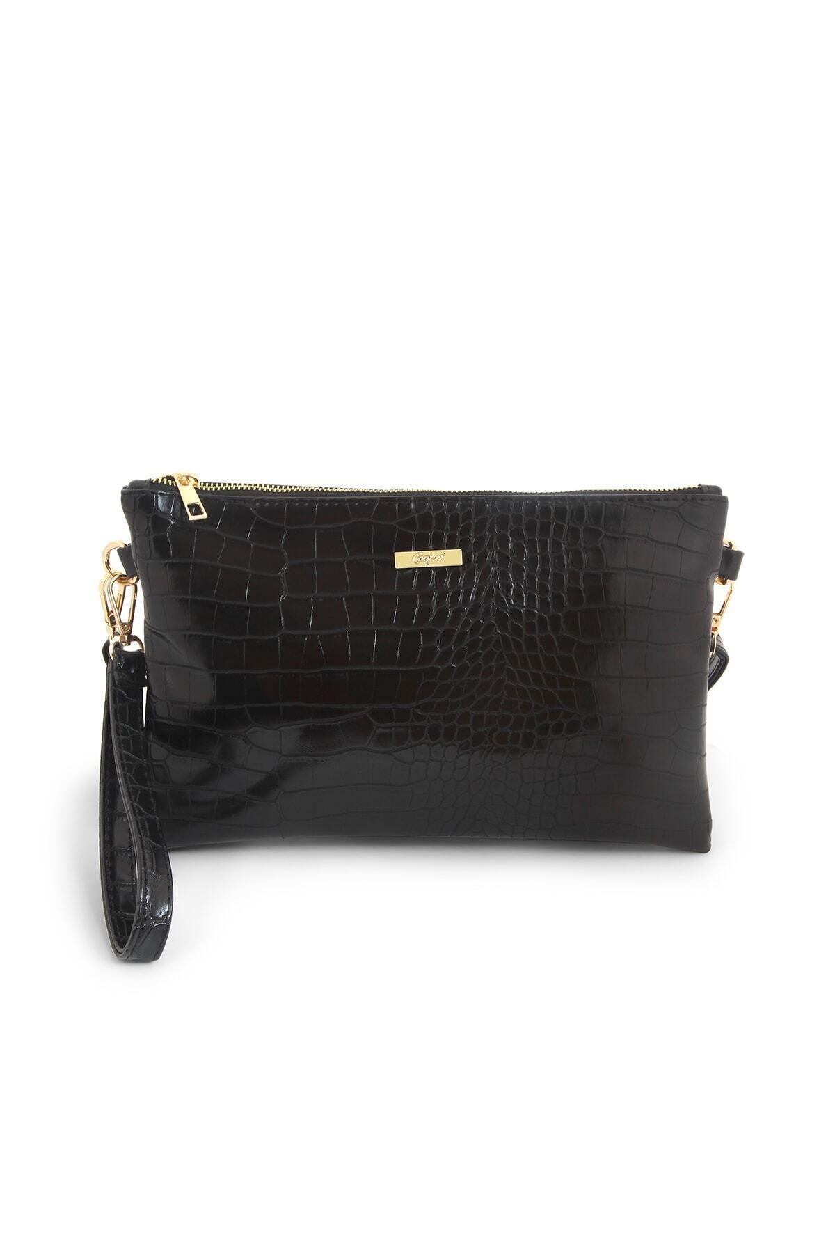 Coquet Accessories Kadın Siyah Pearly Clutch Çanta-19g3u13n001 1