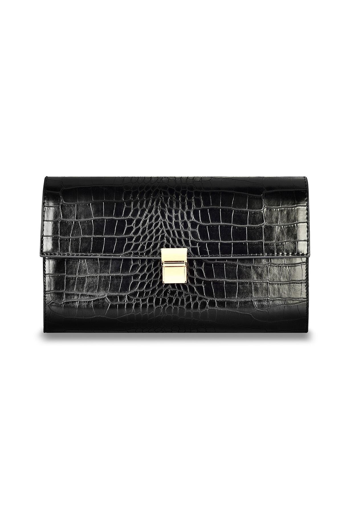 Coquet Accessories Kadın Siyah El Çantası 19g3u13n831 1