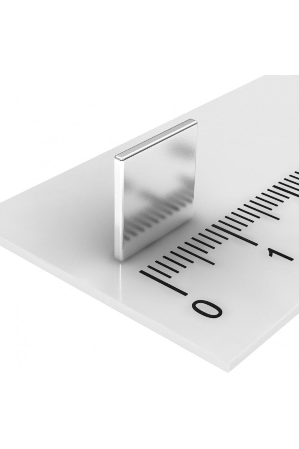 Dünya Magnet 50 Adet 10x10x1 Süper Güçlü Kare Neodyum Mıknatıs Magnet (50'li Paket) 2