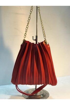 SEVENTEEN Kadın Kırmızı Askılı Çanta