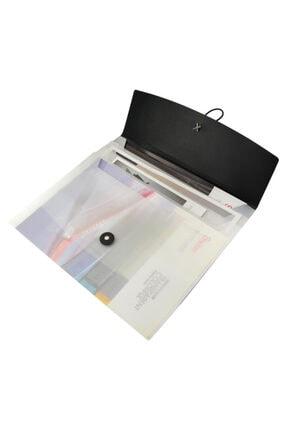 Umur Kırtasiye Shuter A3 3lü Körüklü Dosya Gümüş Renk A1360y
