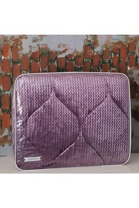 Merinos Fashion Micro Yorgan Çift Kişilik- Mürdüm- 195x215