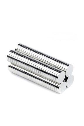 Dünya Magnet 50 Adet 6mm X 3mm Yuvarlak Güçlü Neodyum Mıknatıs (50'li Paket)
