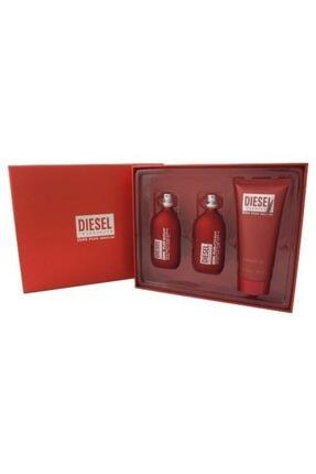 Diesel Zero Plus Masculine 3 Lü Hediye Seti - 75 Ml Edt + 75 Ml Aftershave + 150 Ml Shower Gel
