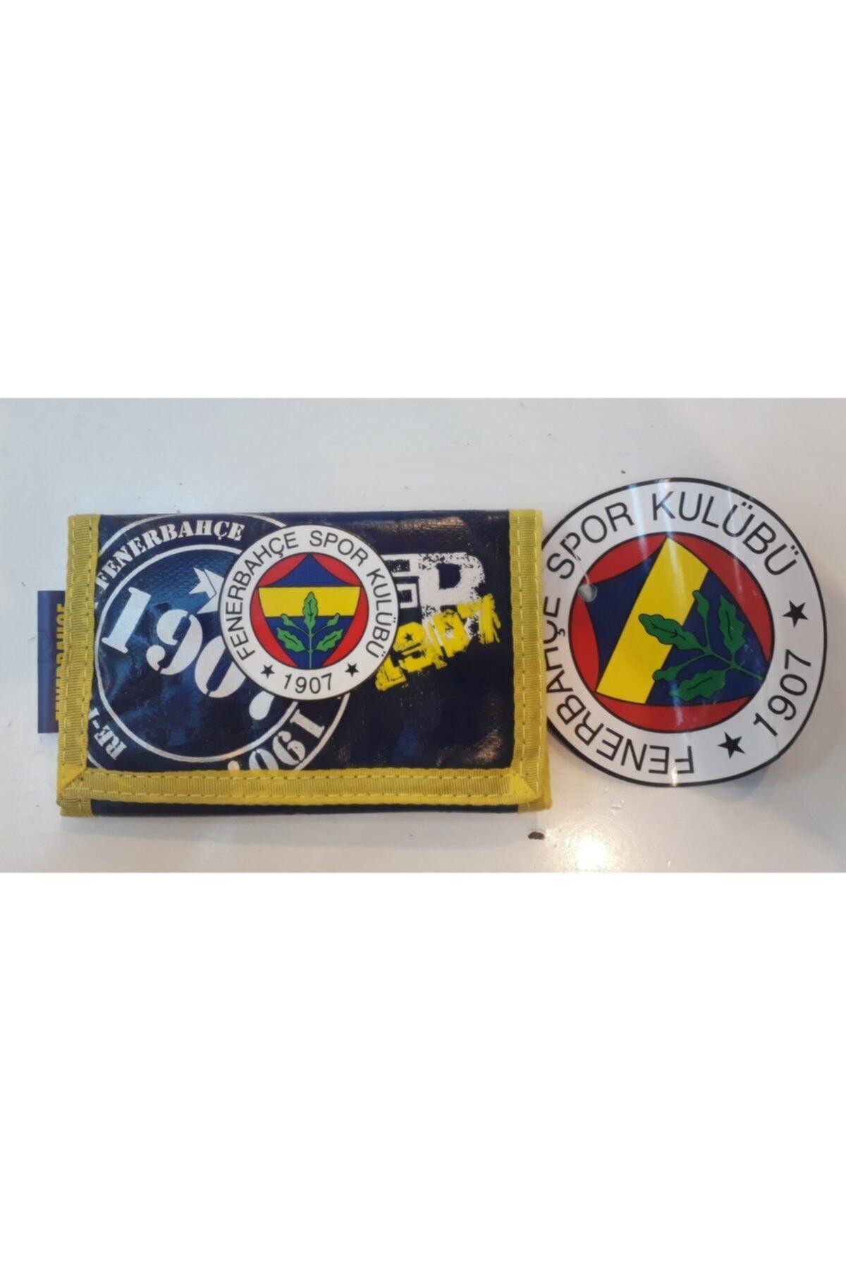 Fenerbahçe Unisex Lacivert Fenerbahçe Taraftar Cüzdanı 5 1