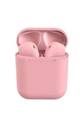 BLUPPLE I12  Iphone Android Uyumlu Kablosuz Bluetooth Kulak Içi Pembe Kulaklık Çocuk Genç