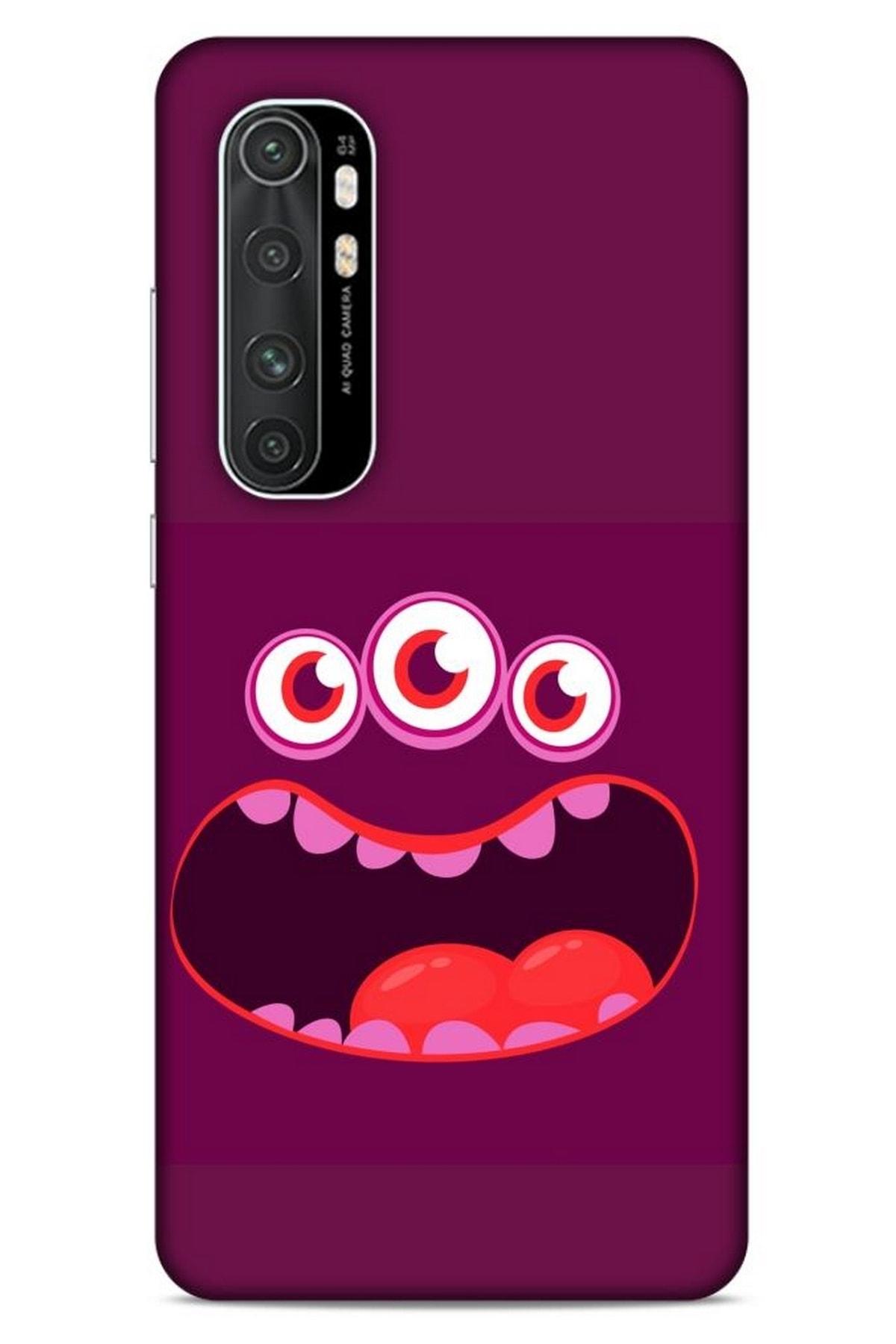 Lopard Emojix  Xiaomi Mi Note 10 Lite Kılıf Silikon Kapak Desenli 1