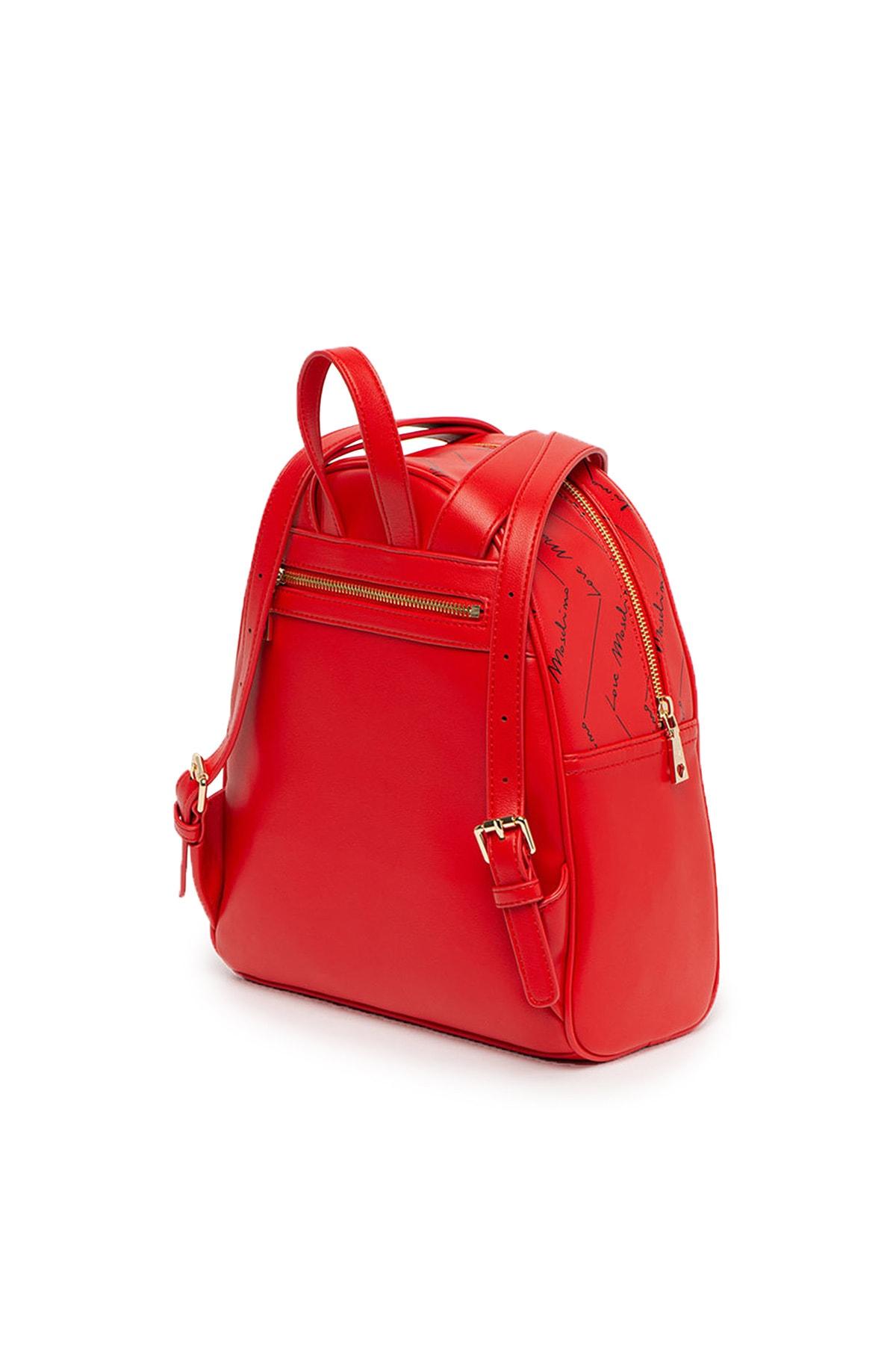 Love Moschino Kadın Kırmızı Sırt Çantası Jc4245pp0bkh0500 2