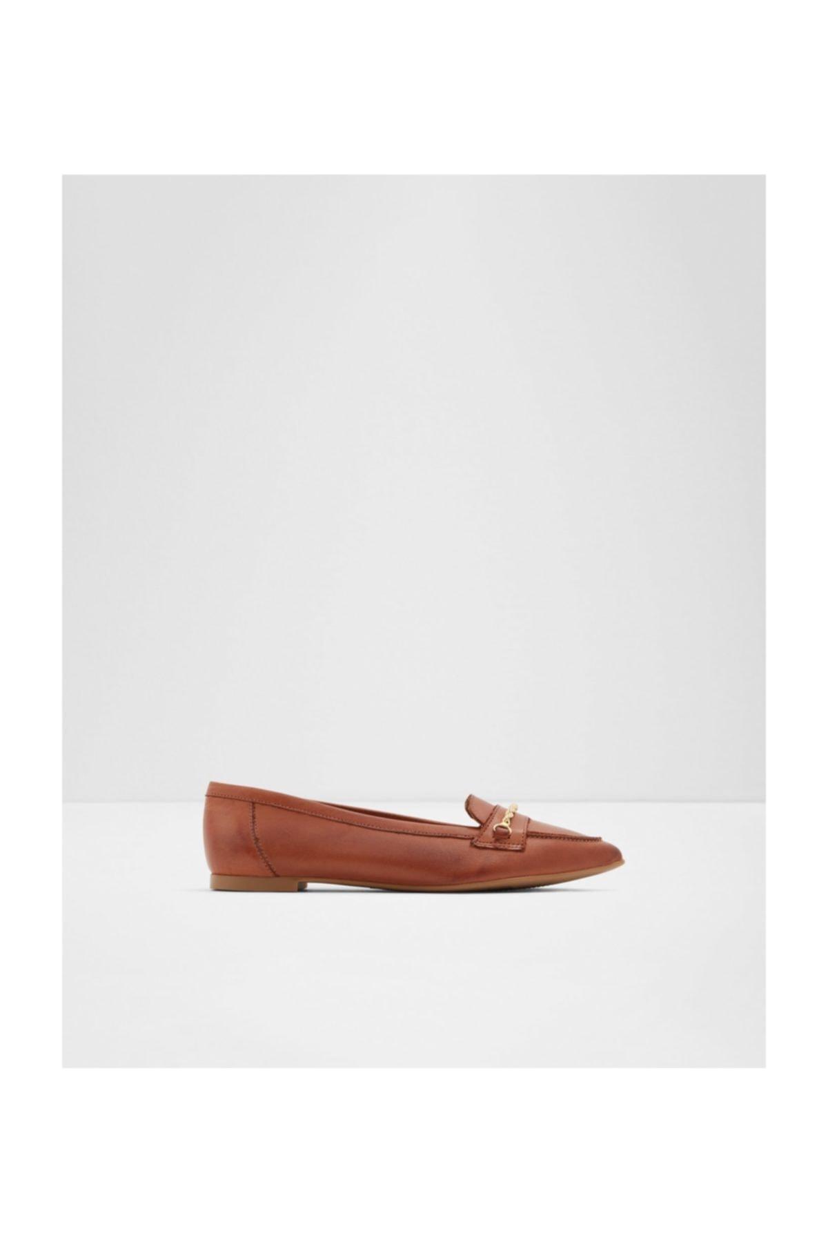 Aldo Kadın Taba Loafer Ayakkabı 1