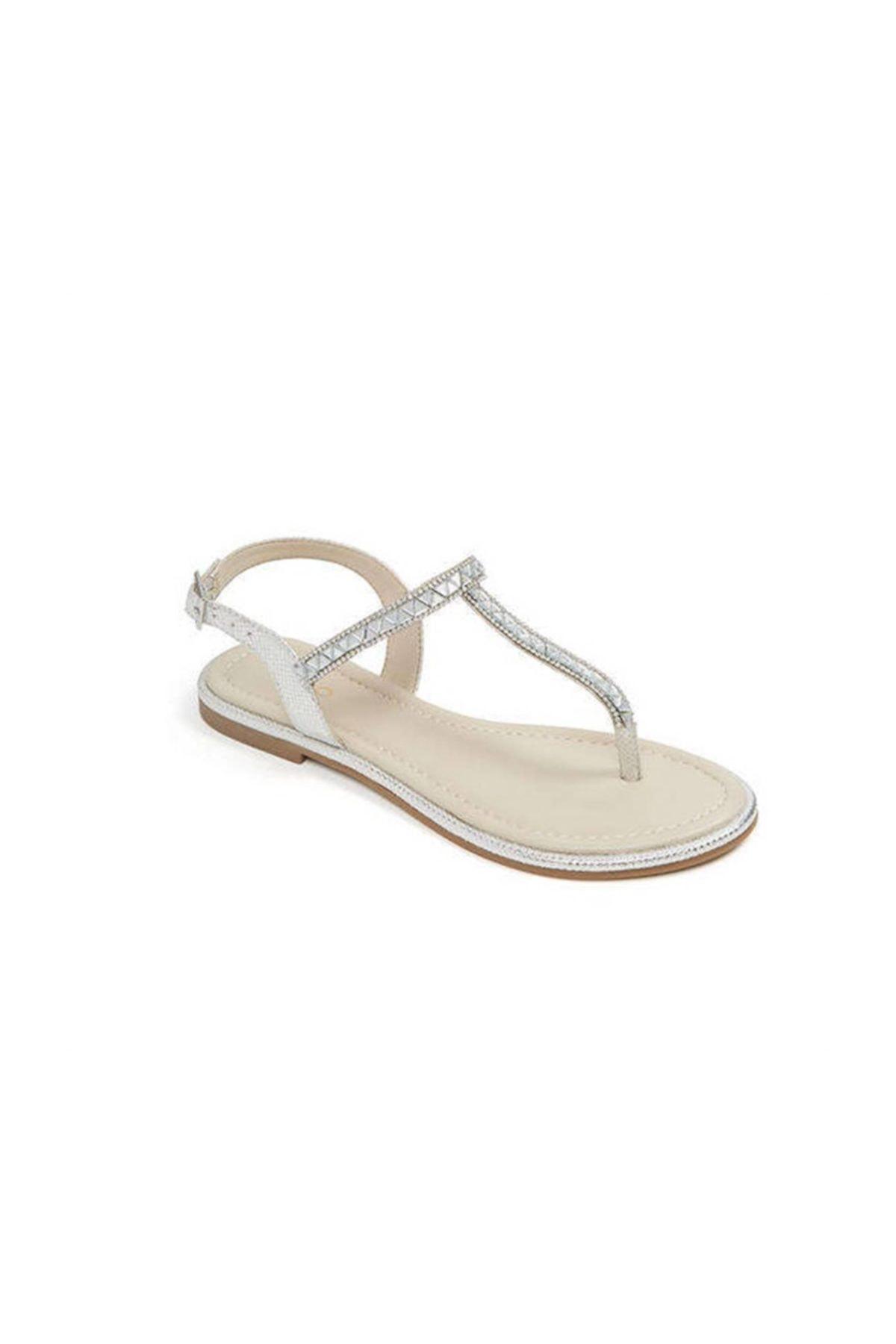 Aldo Kadın Gümüş Sandalet 58636 1